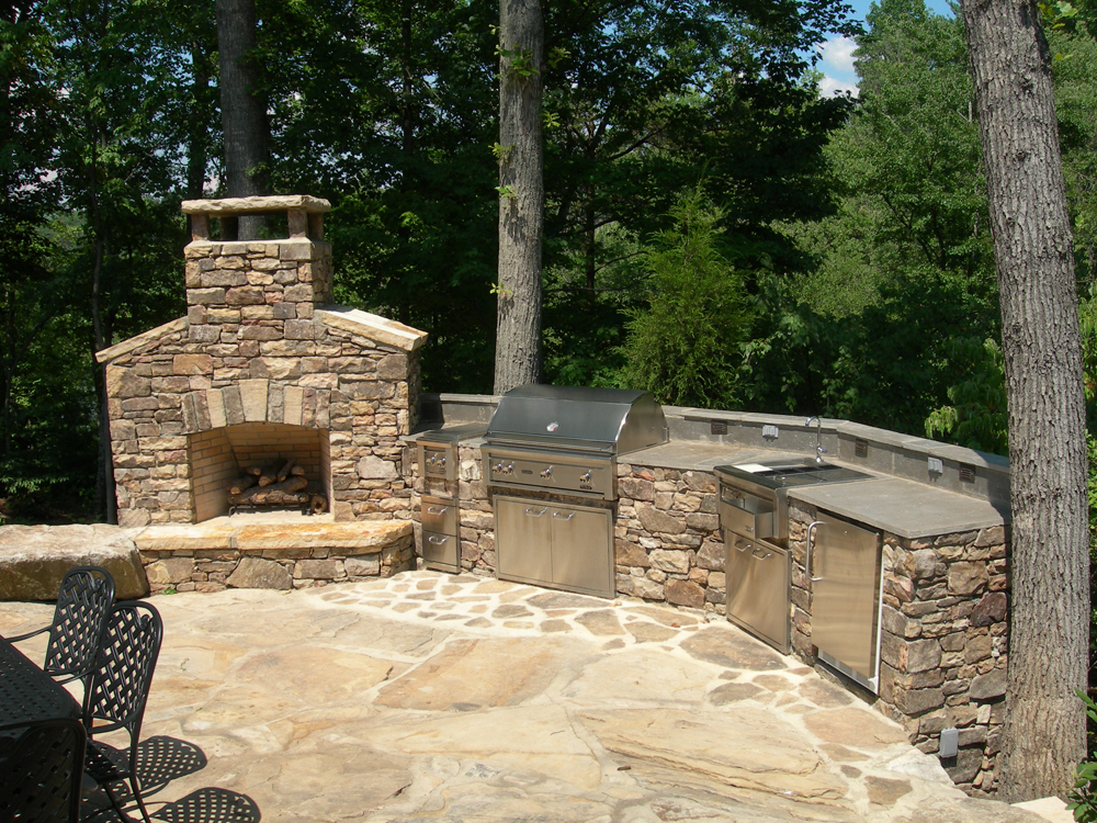 Magnificent Carolina Outdoor Kitchens Before And After Download Free Architecture Designs Scobabritishbridgeorg